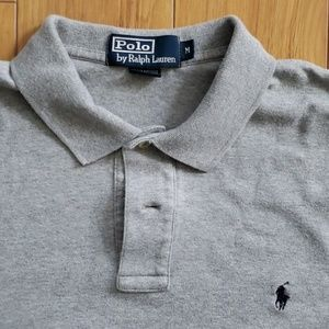 Polo by Ralph Lauren Shirts - Polo by Ralph Lauren - Gray Jersey Knit